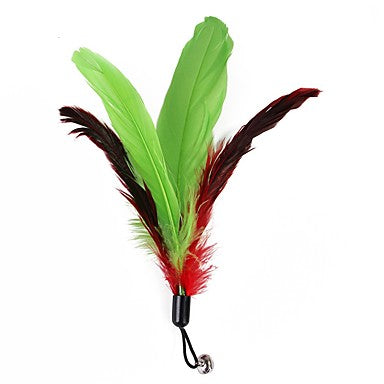 Outfits Feather Toy Pet Friendly Plush For Cats