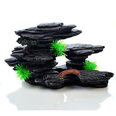 Aquarium Decoration Rocks Resin