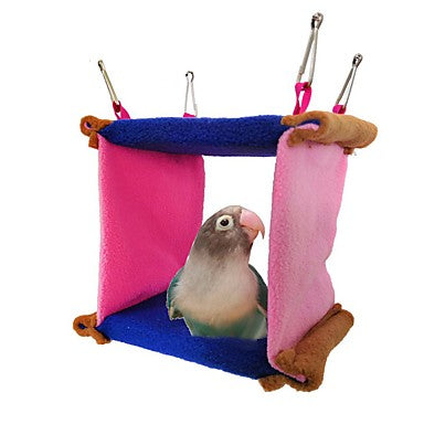 Bird Perches & Ladders Oxford Cloth Pet Friendly / Focus Toy / Felt / Fabric Toys 14.5 cm