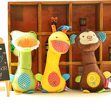 Sprout Pets Toy Dumbbell Shape Giraffe Biting Toy