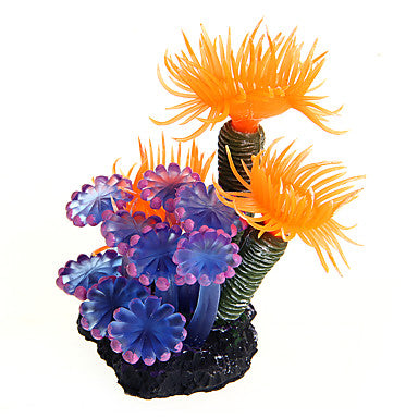 Fish Aquarium Decoration Waterplant Ornament Decoration Plastic