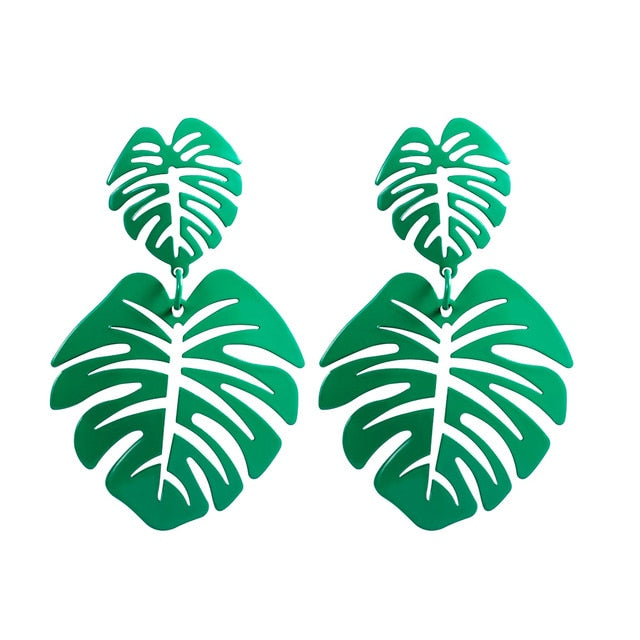 Coconut Leaves Earrings