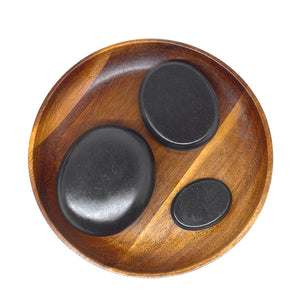 Hot Basalt Stone Massage Set