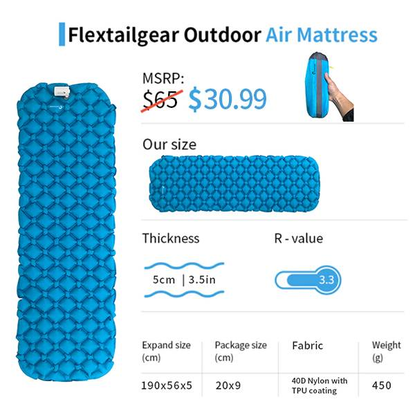 FLEXTAILGEAR-Camping Mattress - FLEXTAILGEAR