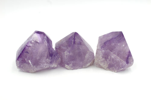 Natural Amethyst Crystal Points