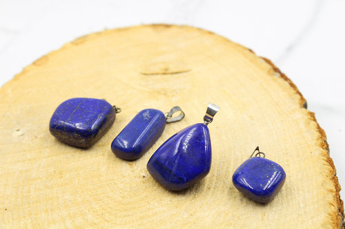 Lapis Lazuli Gemstone Pendant Free From - Empire Gems International