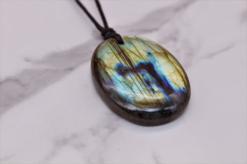 Labradorite Crystal Pendant - Empire Gems International