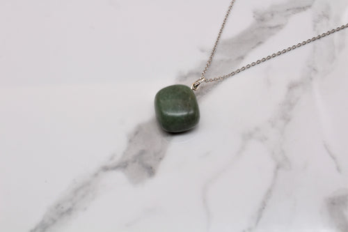 Green Aventurine Tumble Pendant - Empire Gems International