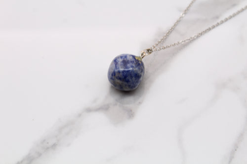 Lapis Tumble Pendant - Empire Gems International