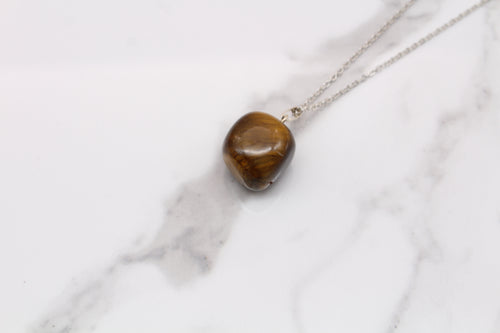 Tigers Eye Tumble Pendant - Empire Gems International
