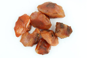 Rough Carnelian Palm Stone - Empire Gems International