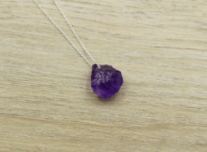 Dainty Amethyst Crystal Choker - Empire Gems International