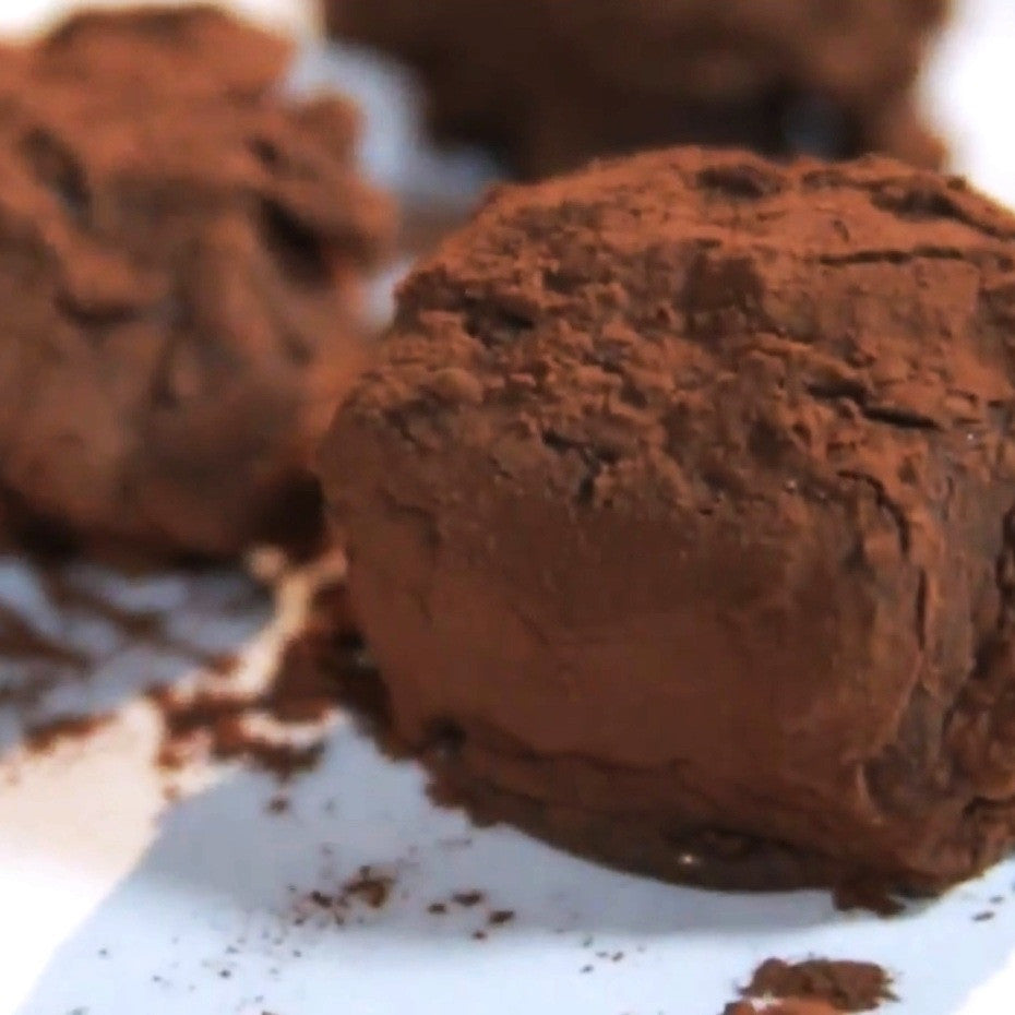 Dark Chocolate & Tea Truffles