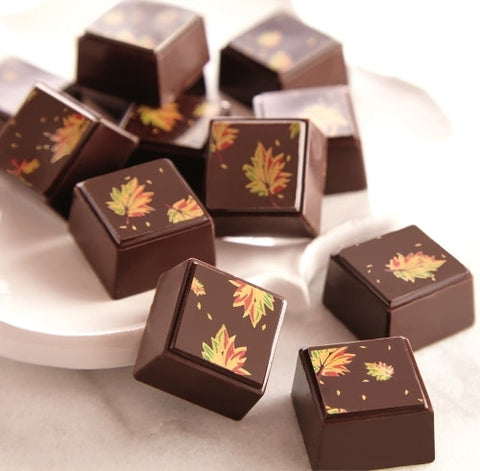 Autumn Leaf Olive Oil Truffles