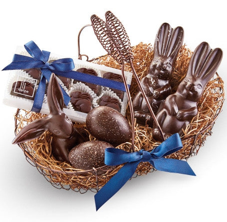 Easter Basket sure to impress full of Eggs and Bunnies!