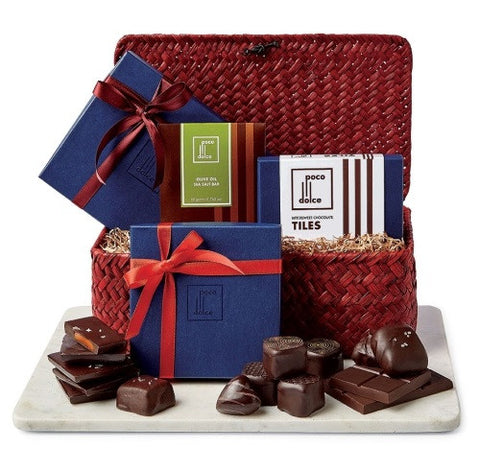 Show your love with this beautiful basket of assorted chocolates.