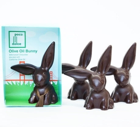 Olive Oil Chocolate Bunny