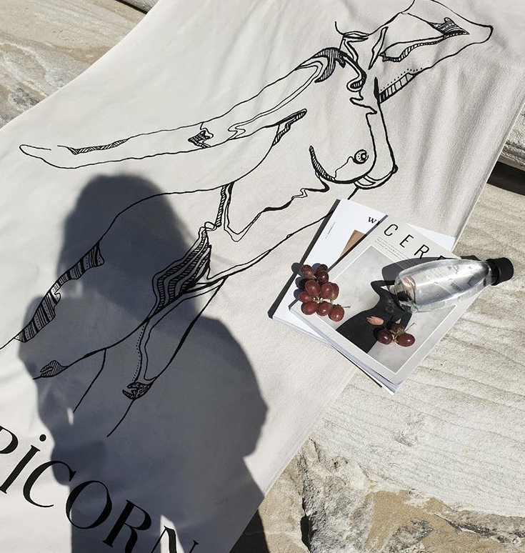 Anisah Nasir & Public Figure founder Bella Zito on creating our exclusive zodiac collaboration beach towels.