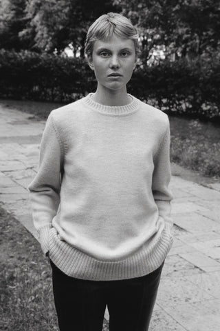 Caes Oversized Knitted Sweater