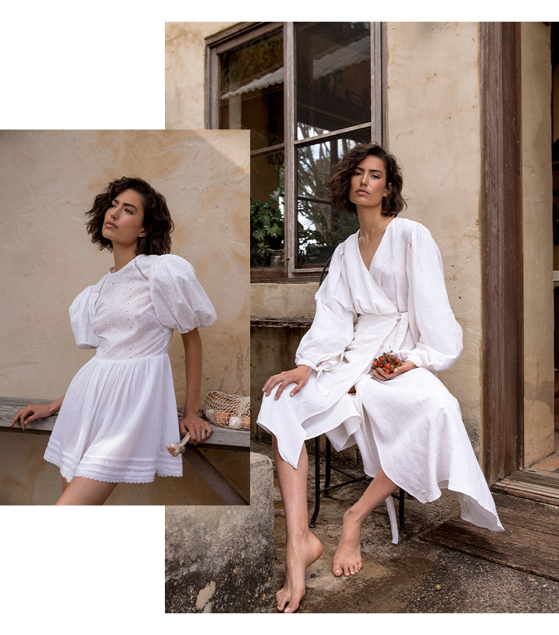 Public Figure Campaign Tess leopold Ethical & sustainable Luxury