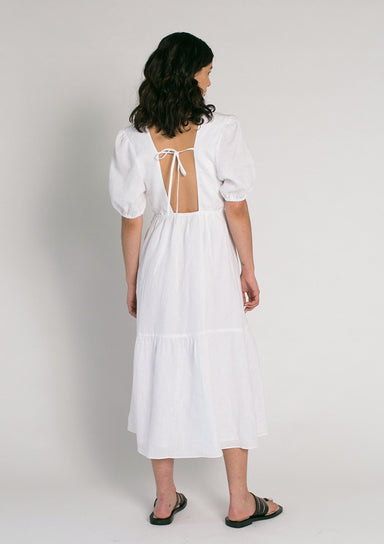 Jillian Boustred Katie Dress - White