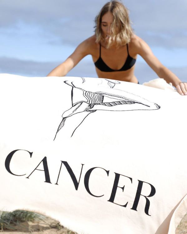 Cancer Beach Towel - June 22 - July 22
