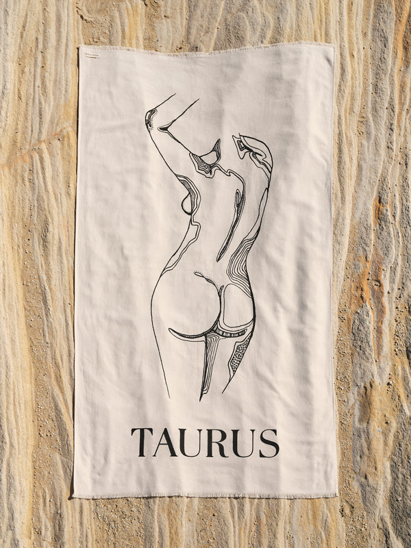 Taurus Beach Towel - April 21 - May 21