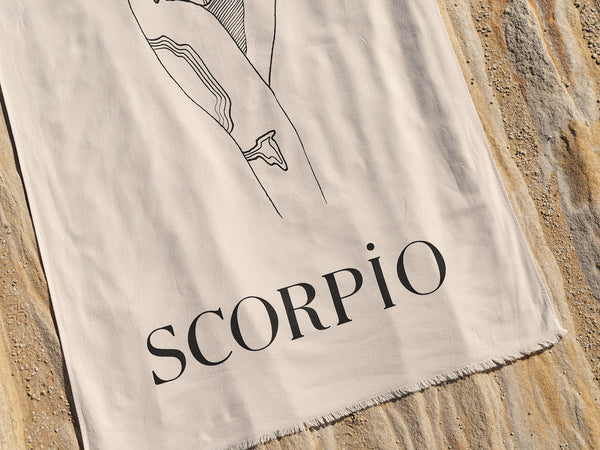 Scorpio Beach Towel - October 24 - November 22