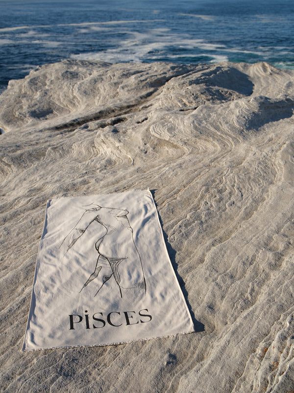 Pisces Beach Towel - February 20 - March 20