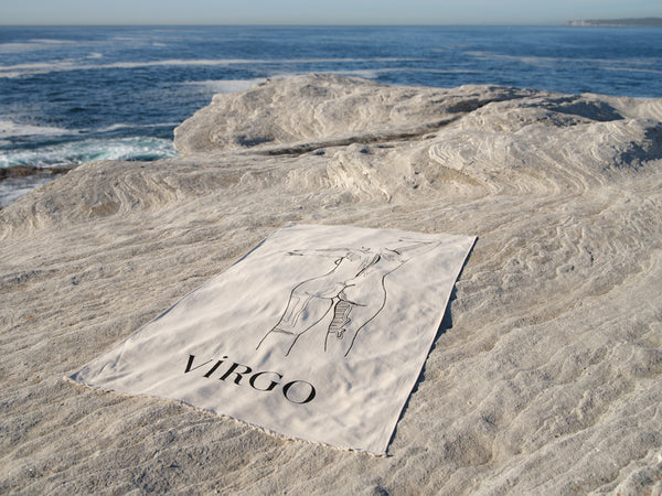 Virgo Beach Towel - August 23 - September 23