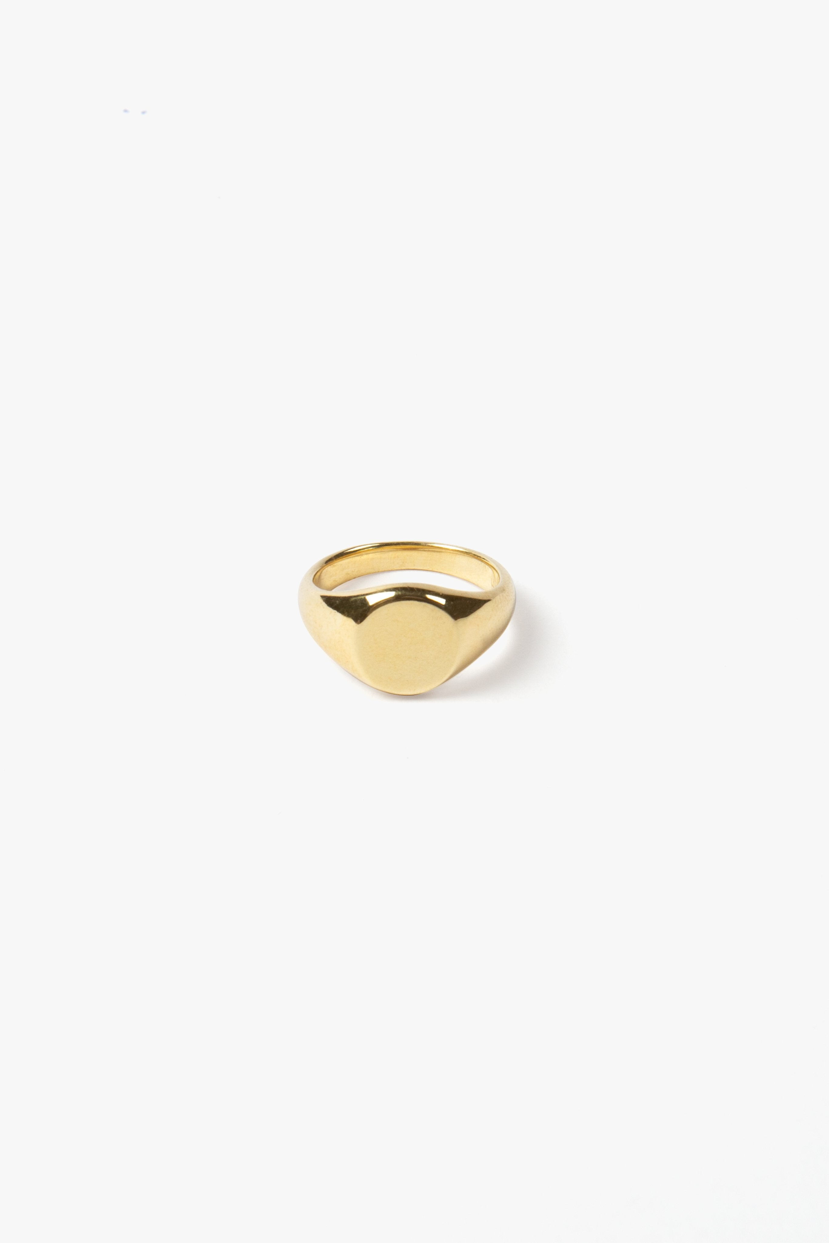 FLASH JEWELLERY Classic Signet Ring