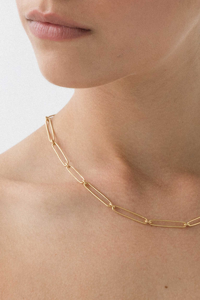 FLASH JEWELLERY Vermouth Chain Necklace - 14K Vermeil