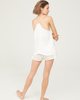Maison Essentiele Silk Cami - White