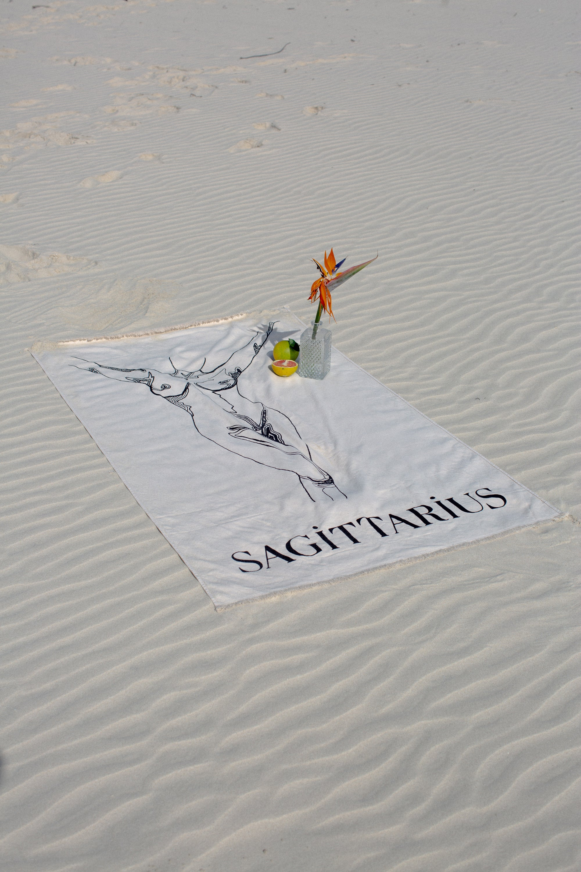 Sagittarius Beach Towel - November 23 - December 21