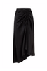 Autark Gather Skirt Black