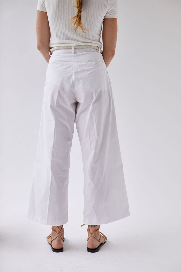 The Cropped Tailored Trouser