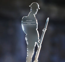 Load image into Gallery viewer, Personalised Remembrance Tommy