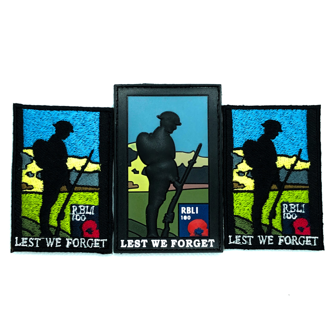 Limited Edition Tommy Patches- Lest We Forget