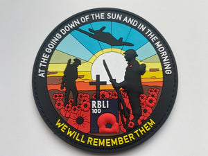 We will remember (Velcro Patch 1)