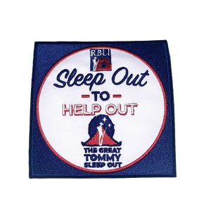 Sleep Out to Help Out Patch