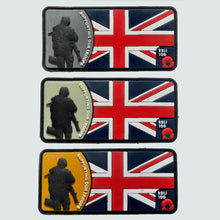 Load image into Gallery viewer, Supporting Our Troops Flag Velcro Patch Pack of 3