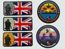 Load image into Gallery viewer, PTSD Awareness Velcro Patch Pack of 5
