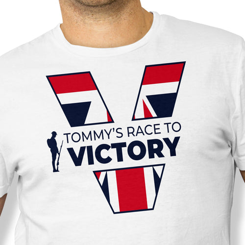 Tommy's Race To Victory Tee Unisex