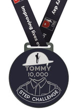 Load image into Gallery viewer, Tommy 10,000 Step Challenge Completers Medal
