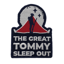 Load image into Gallery viewer, 'The Great Tommy Sleep Out' Patch