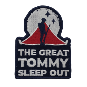 'The Great Tommy Sleep Out' Patch