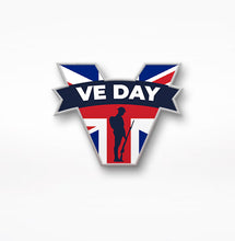 Load image into Gallery viewer, VE Day 2021 Lapel Pin