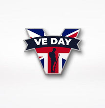 Load image into Gallery viewer, VE Day 2021 Special Edition Tommy Figure, Plus FREE Sticker & Pin