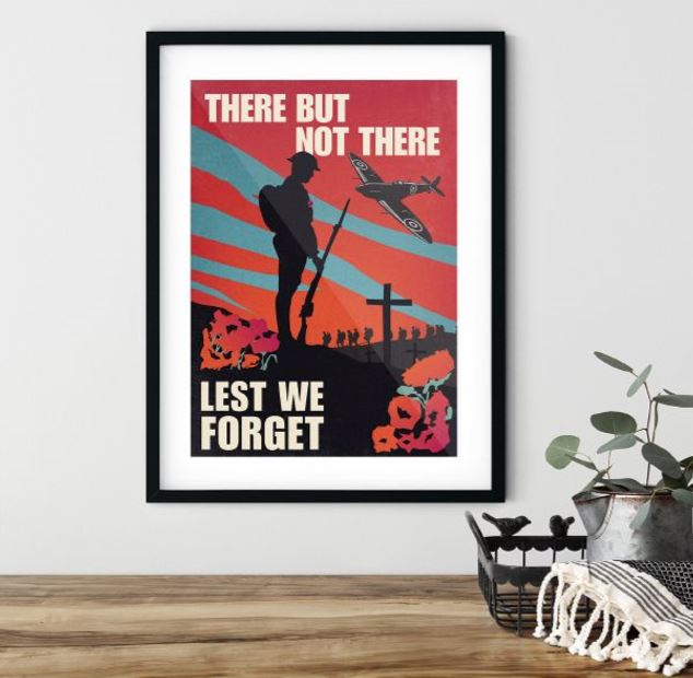Original Tommy Wall Art | Lest We Forget