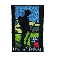 Load image into Gallery viewer, Limited Edition Tommy Patches- Lest We Forget
